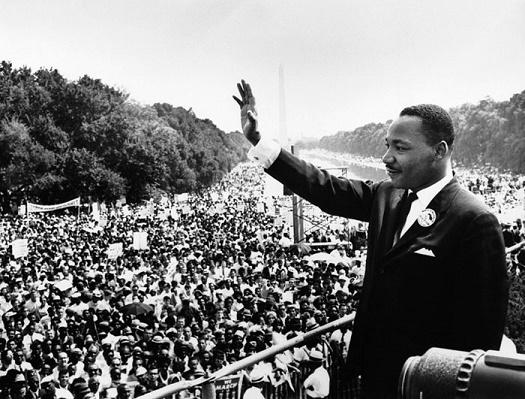 MLK Image SMALLER- probably in WashingtonDC